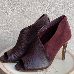 Halogen Suede and Leather Heels